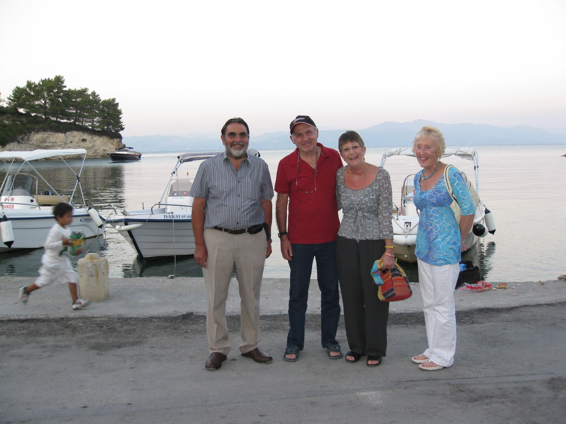 PAWS team with Derek & Jenny in Loggos